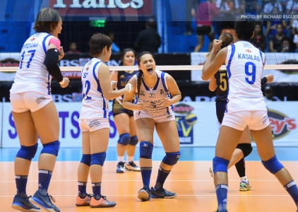 Lady Warriors sweat it out in five-set win over NU