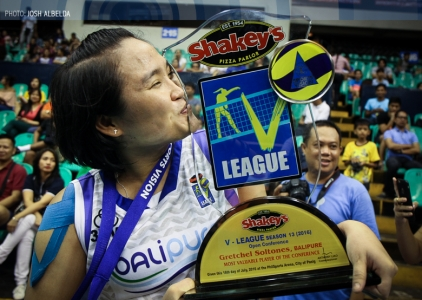 13th Shakey's V-League Open Conference Awarding Ceremony