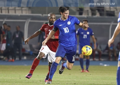Younghusband scores goal #43 as Azkals draw Indonesia