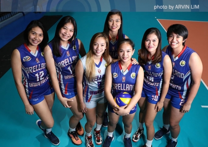 NCAA 92 Women's Volleyball OBB shoot: Arellano