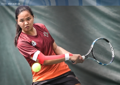 UAAP 79 Women's Tennis NU vs UP Feb 25