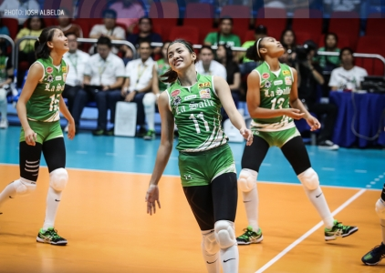 Lady Spikers book ninth straight Final Four stint