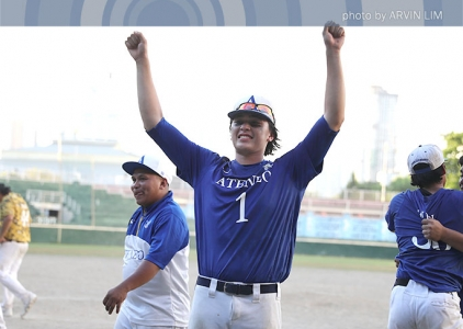 UAAP 79 Baseball Finals: Ateneo celebration gallery