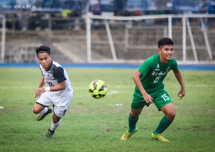 UST, DLSU end eliminations with scoreless draw