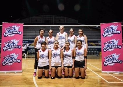Premier Volleyball League Photo shoot: Creamline