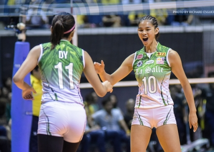 Lady Spikers march to ninth straight Finals stint