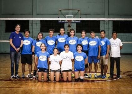 Premier Volleyball League Photo shoot: Bali Pure