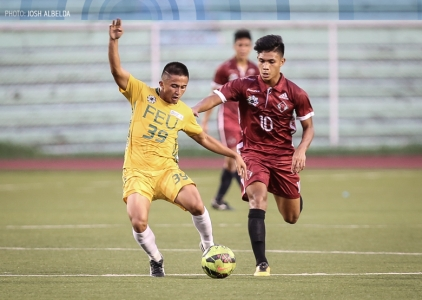 FEU dethrones UP to return to men's football finals