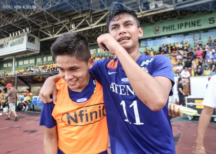 Gayoso steers Ateneo back to UAAP men's football title