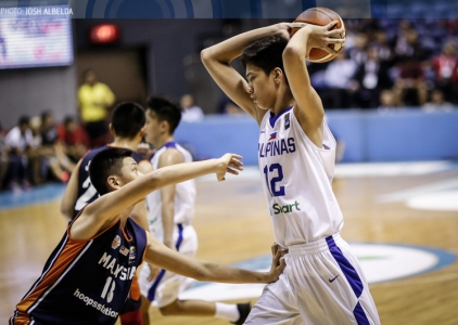 Batang Gilas finishes off fourth straight sweep in SEABA U16