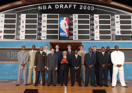 THROWBACK: NBA Draft classes