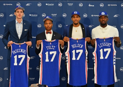 Philadelphia 76ers introduce 2017 rookie class