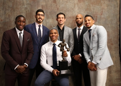 The Best Photos from the 2017 NBA Awards