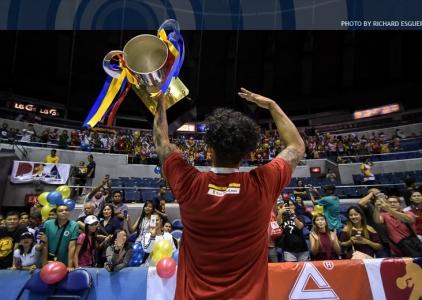 2017 Comm's Cup Finals: San Miguel Celebration Photos
