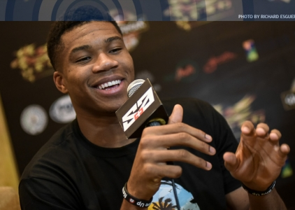 'Greek Freak' Giannis Antetokounmpo in Manila