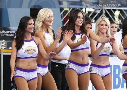 NBA 3X Philippines 2017 Halftime Show feat. The Laker Girls