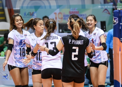 Thailand def. Chinese Taipei 26-24,25-14, 25-15