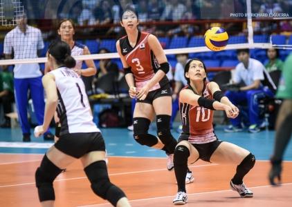 #AVCWomensSCH: Japan def. Chinese Taipei 25-19, 25-16, 25-20