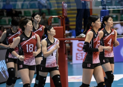 #AVCWomensSCH: Japan def. China, 25-17, 25-18, 25-18