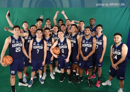 UAAP 80 Shoot: Adamson Soaring Falcons