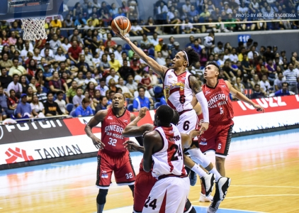 Beermen snap Ginebra's 7-game winning streak