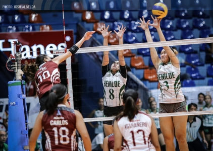 Lady Maroons fan semis hopes in sweep of Lady Blazers