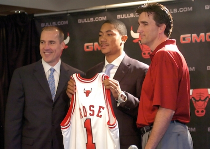 Happy birthday Derrick Rose! (October 4, 1988)