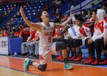 San Beda's 37-point rout wakes up EAC from playoff dreaming