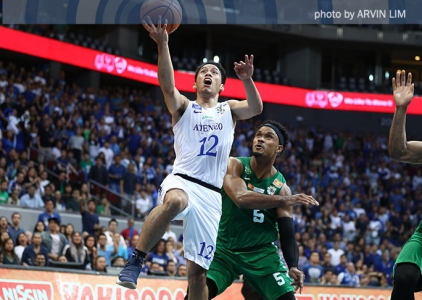 Ateneo sweeps first round after solving DLSU's 'mayhem' anew