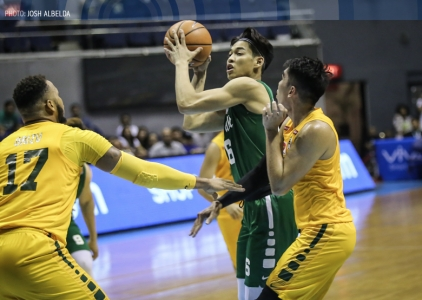 Caracut finishes what Rivero started in DLSU's bounce back