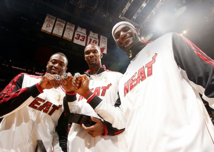 THROWBACK: NBA ring ceremonies