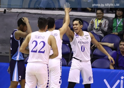 Ateneo re-asserts mastery over Adamson to remain unscathed