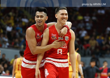San Beda drops Baste to set Finals date with perfect Pirates