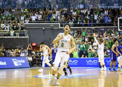 DLSU comes from behind to end Ateneo's unbeaten run | PT. 1