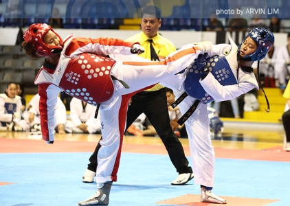 NU womens' taekwondo jins prevail over La Salle