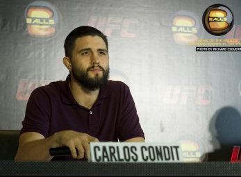 ABS-CBN Sports Exclusive: Carlos Condit Press Conference