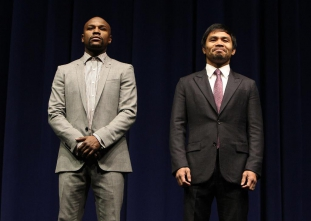 Mayweather vs. Pacquiao Kick-off Press Conference