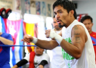 Pacman continuously improving as week two of training ends