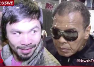 PANOORIN: Reaksyon ni Pacquiao sa pagpili sa kanya ni Ali