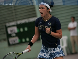 UAAP 77 Men's and Women's Tennis Champions National Universi