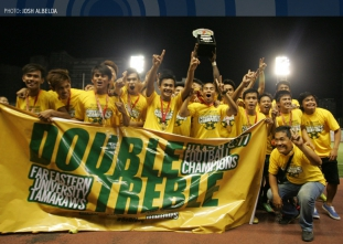 UAAP 77 Football Champions Far Eastern University on The Sco