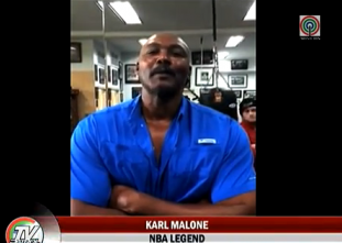 NBA Legend Karl Malone, may mensahe para kay Pacman!