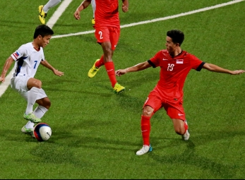 PH U-23 football team loses to Singapore