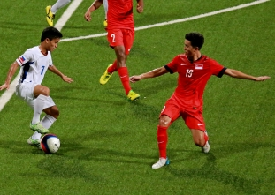 PH U-23 football team loses to Singapore