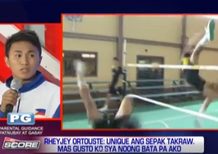 Philippine Sepak Takraw team aims for gold in the SEA Games