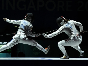 Philippine fencing team, ready to compete in the SEA Games