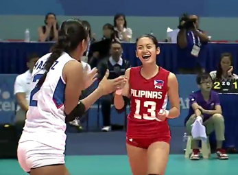 Philippine women's volleyball team nakabawi sa Malaysia