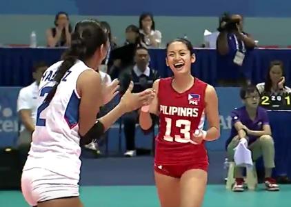 Philippine women's volleyball team nakabawi sa Malaysia