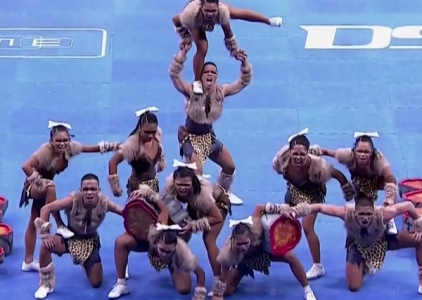 CHEER DANCE COMPETITION 2015: NU PEP SQUAD