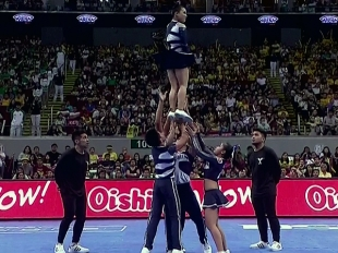 CHEER DANCE COMPETITION Group Stunts: AdU PEP SQUAD